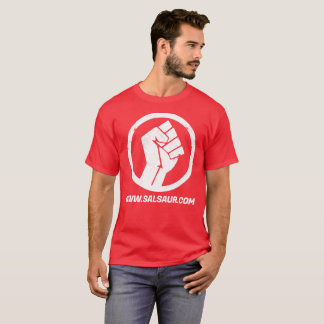 Salsa Underground T-Shirt Men Red Big Logo