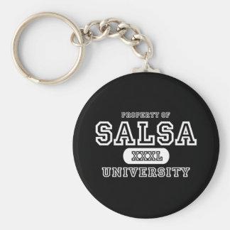 Salsa University Dark Keychain