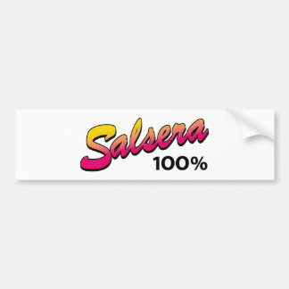 Salsera-100 Bumper Sticker