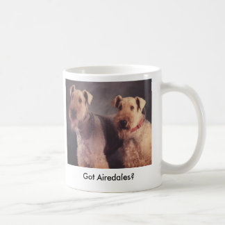 Salt and Ritz, Got Airedales? Coffee Mug