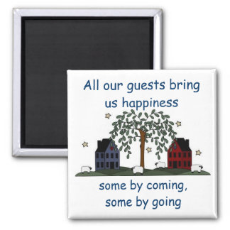 salt box houses, guests bring happiness magnet
