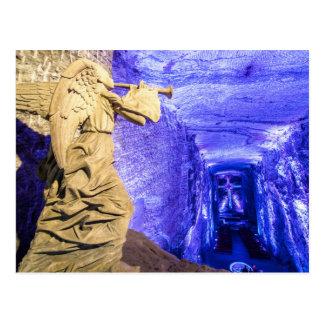 Salt Cathedral Angel Postcard