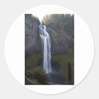 Salt Creek Falls, Oregon Round Sticker
