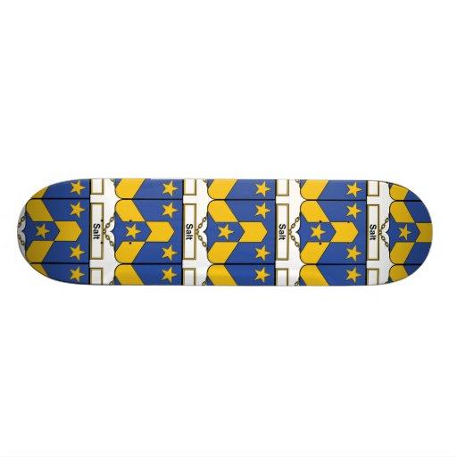 Salt Family Crest Skate Board Deck