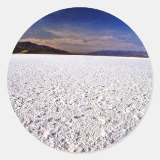 Salt Flats Classic Round Sticker