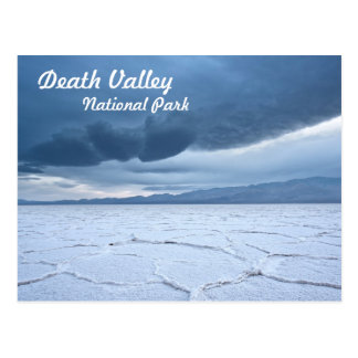 Salt Flats in Death Valley Postcard