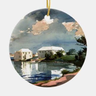 Salt Kettle, Bermuda Ceramic Ornament