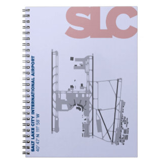Salt Lake City Airport (SLC) Diagram Notebook