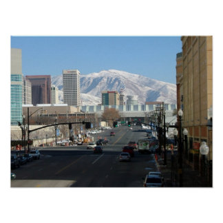 Salt Lake City and the Wasatch Front Print