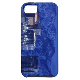Salt Lake City Downtown Winter Skyline iPhone 5 Covers