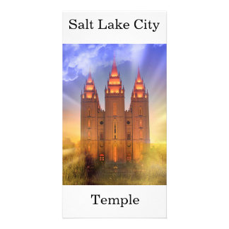 Salt Lake city LDS Temple Card