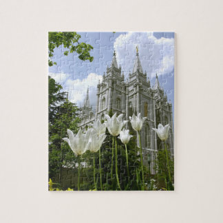 Salt Lake City LDS Temple Jigsaw Puzzle