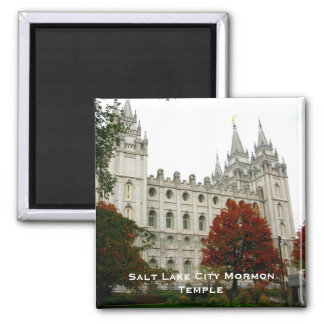 Salt Lake City Mormon Temple Magnet