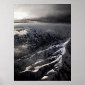 Salt Lake City Mountains Print