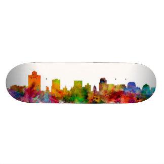 Salt Lake City Skyline Skate Deck