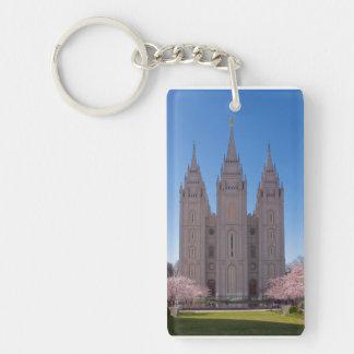 Salt Lake City Temple keychain. Keychain