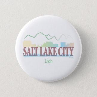 Salt Lake City,Utah 2 Inch Round Button