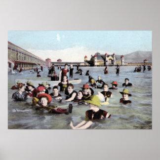 Salt Lake City Utah Bathing Pavilion Posters