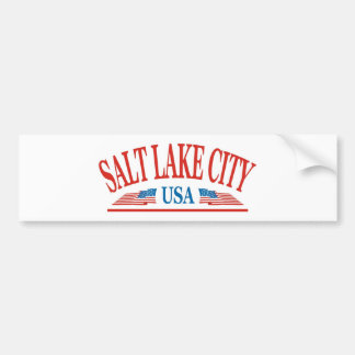 Salt Lake City Utah Bumper Sticker