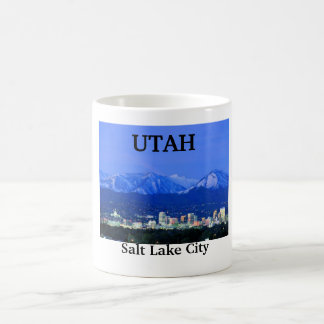 Salt Lake City, UTAH Coffee Mug