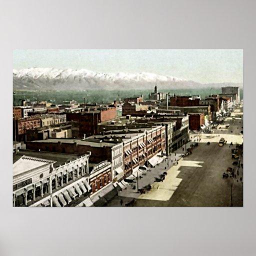 Salt Lake City, Utah Posters