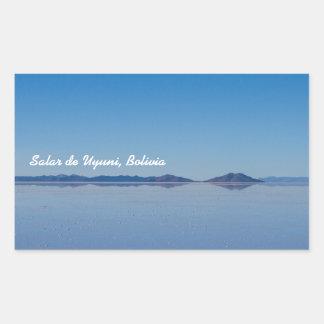 Salt Lake in Salar de Uyuni, Bolivia