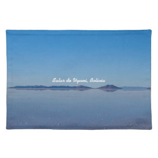 Salt Lake in Salar de Uyuni, Bolivia Placemats
