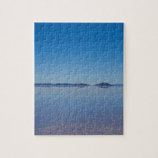 Salt Lake in Salar de Uyuni, Bolivia Puzzle