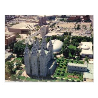 Salt Lake LDS Temple Postcard