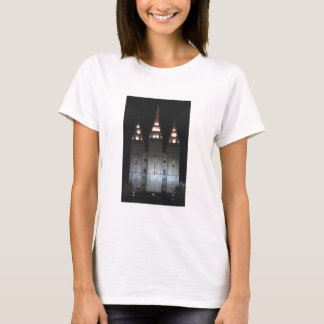 Salt Lake Temple At Night T-Shirt