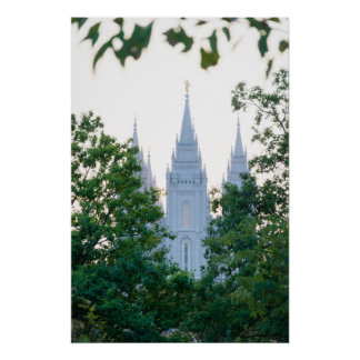 Salt Lake Temple Poster