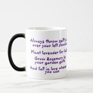Salt, Lavender, Rosemary & Love Movie Quote Mug