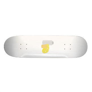 Salt, lemon and tequila custom skateboard