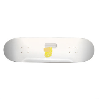 Salt, lemon and tequila skate deck