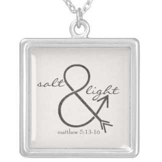 Salt & Light Silver Plated Necklace