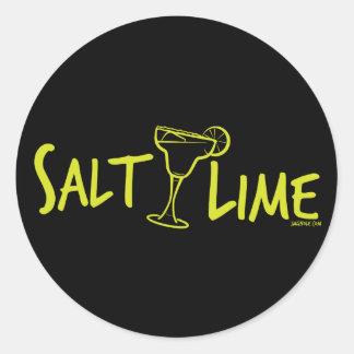 Salt / Lime Round Sticker
