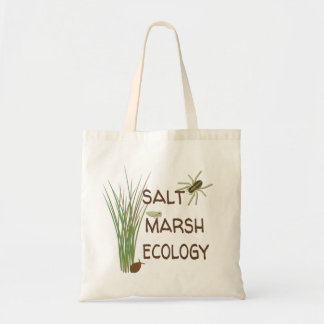 Salt Marsh Ecology Tote Bag