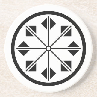 Salt name rice field pinwheel coaster