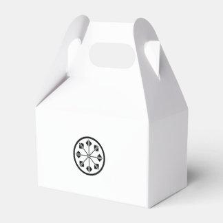 Salt name rice field pinwheel favor box