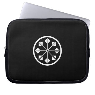 Salt name rice field pinwheel laptop sleeve