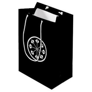 Salt name rice field pinwheel medium gift bag