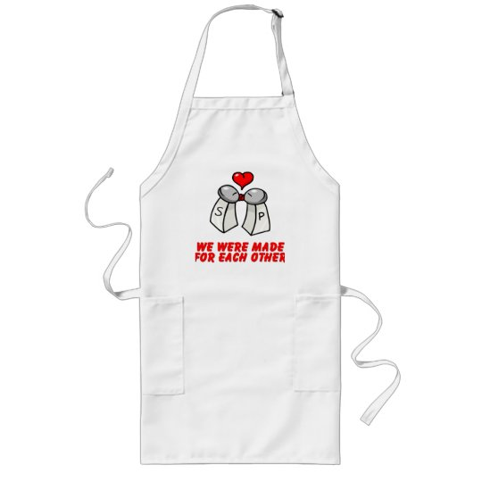 Salt & Pepper Long Apron