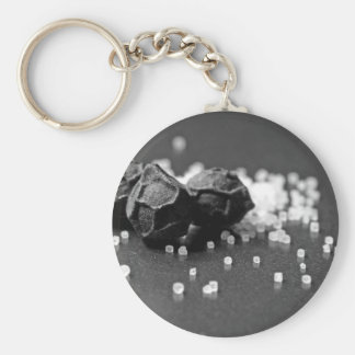Salt Pepper Macro Image In Studio Keychain