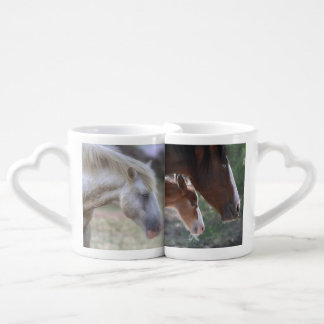 Salt River Wild Horse Family Mug Set