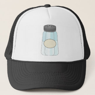 salt-shaker trucker hat