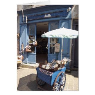 Salt shop Ile de Re, France Card