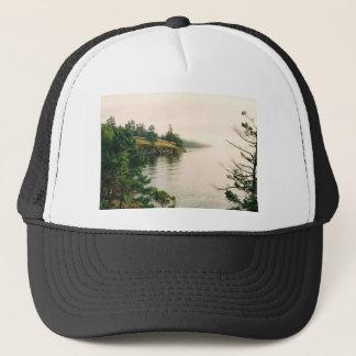 Salt Spring Island Oceanfront View Trucker Hat