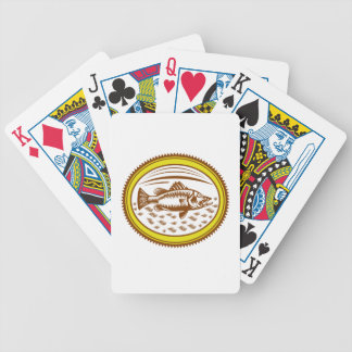 salt-water-barramundi-side-OVAL Bicycle Playing Cards