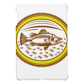 salt-water-barramundi-side-OVAL iPad Mini Cover