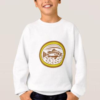 salt-water-barramundi-side-OVAL Sweatshirt